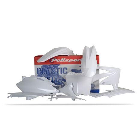 _Kit plastiques polisportcrf  CRF 250 2010 CRF 450 09-10 blanc | 90211 | Greenland MX_