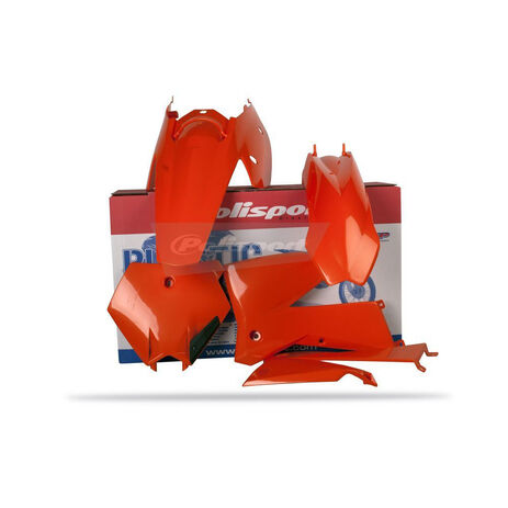 _Kit Plastiques Polisport  KTM SX 05-06 SXF 05-06 EXC 05-07 EXCF 05-07 | 90103 | Greenland MX_