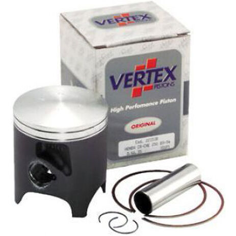 _Pistón Vertex Honda CR 125 92-03 Con Ventana 1 Segmento   2685   Greenland MX_