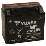 _Batterie poweroad sans entretien Yuasa YTX12-BS | BY-YTX12BS | Greenland MX_