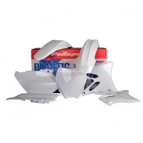 _Kit Plastiques Polisport Yamaha YZ 125/250 15-17 Blanc | 90648 | Greenland MX_