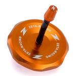 _Bouchon de Reservoir Zeta Aluminium KTM EXC/EXC-F 11-.. SX 65 10-.. SX/SX-F 125-450 11-12 Orange | ZE87-4208 | Greenland MX_