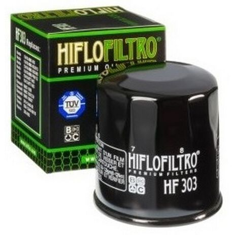 _Filtre a Huile Hiflofiltro Yamaha YFM 660 Grizzly 03-04 | HF303 | Greenland MX_