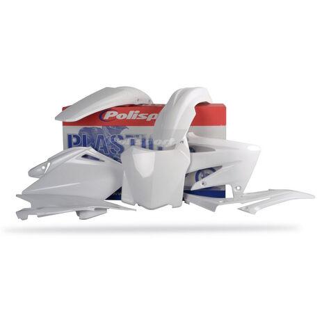 _Kit plastiques polisport CRF 250 08 blanc | 90143 | Greenland MX_