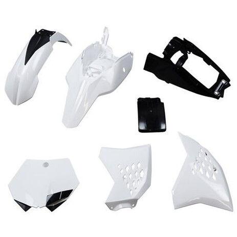 _Kit Plastiques Polisport KTM SX 65 12-14 Blanc | 90214 | Greenland MX_