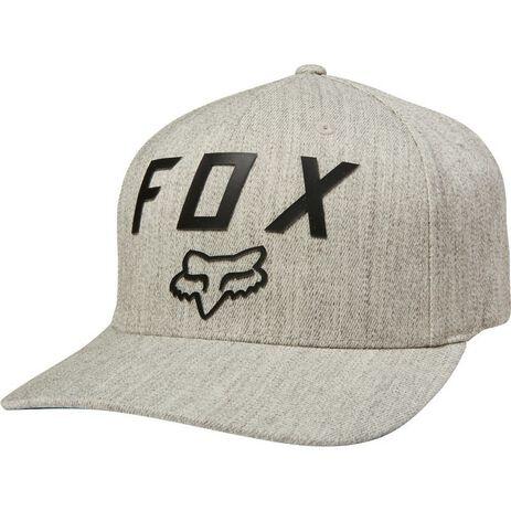 _Casquette Fox Number 2 Flexit Gris | 21984-416 | Greenland MX_