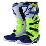 _Bottes Troy Lee Designs Alpinestar TECH 7 Jeune Flue/Bleu/Blanc | 9391985300 | Greenland MX_