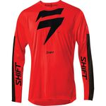 _Maillot Shift 3Lack Label Race Rouge/Noir | 24119-055 | Greenland MX_