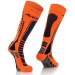 _Chaussettes Acerbis MX Pro Noir/Orange Fluor | 0022077.313 | Greenland MX_