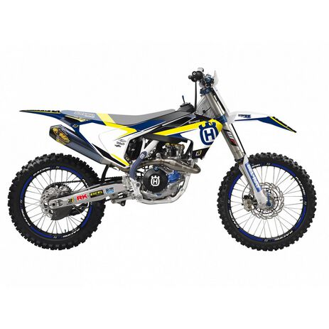 _Kit Deco Blackbird Dream 4 KHusqvarnaTC/FC 16-18 TE/FE 17-19 | 2612N | Greenland MX_
