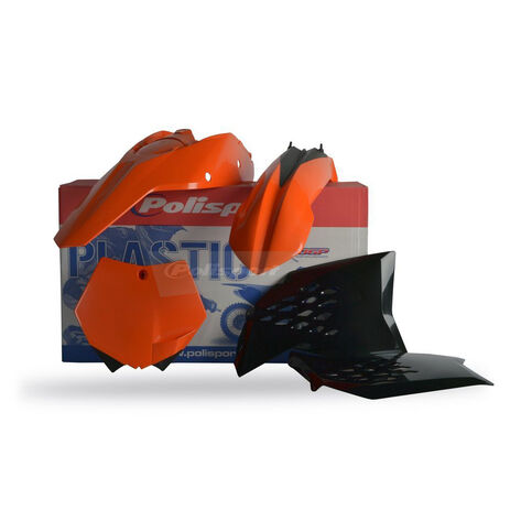 _Kit Plastiques Polisport KTM SX 07-10 SXF 07-10 EXC 08-11 EXCF 08-11 | 90121 | Greenland MX_