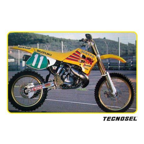 _ Housse de Selle Tecnosel Replica Team Suzuki 1993 RM 125/250 93-95   13V01   Greenland MX_