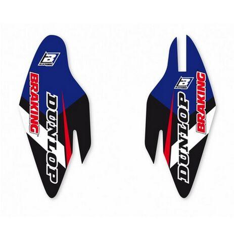 _Kit Deco Protecteurs de Fourche Blackbird Dream 4 Yamaha YZ 125-/250 15-20 YZ 450 F 10-17   5237N   Greenland MX_