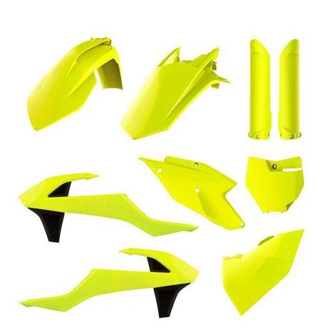 _Full Kit Plastiques Polisport KTM SX 125/150 SX-F 250/350/450 16-18 Fluor Jaune | 90740 | Greenland MX_