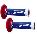 _Poignees Pro Grip 788 Triple Bleu/Rouge | PGP-788BLRD | Greenland MX_