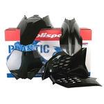 _Kit Plastiques Polisport KTM SX/SX-F 07-10 EXC /EXC-F 08-11 Noir | 90239 | Greenland MX_