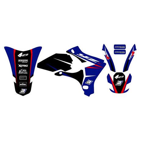 _Kit Deco Blackbird Dream 4 Yamaha YZ 250/450 F 03-05 | 2230N | Greenland MX_