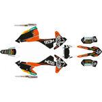 _Kit Autocollant Complète KTM EXC/EXC-F 17-19 WESS   SK-KTEXC1719WSORBK-P   Greenland MX_