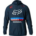 _Veste Fox Anorak Savage Honda Bleu Marine | 25323-007-P | Greenland MX_