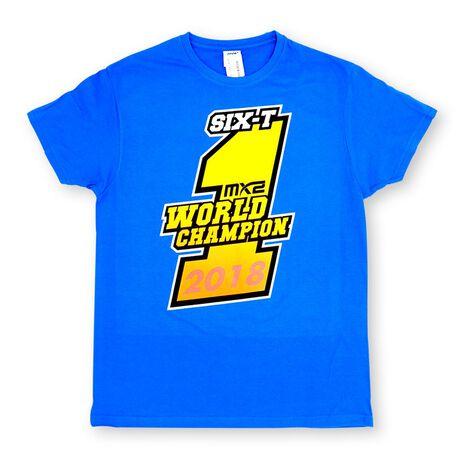 _T-shirt Jorge Prado Champion Bleu   JP61-300BL   Greenland MX_