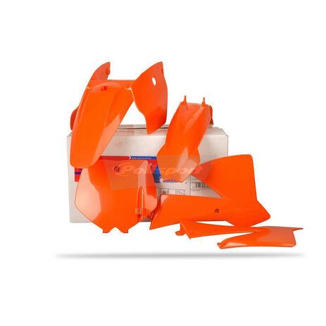 _Kit Plastiques Polisport KTM SX 65 02-08 | 90098 | Greenland MX_