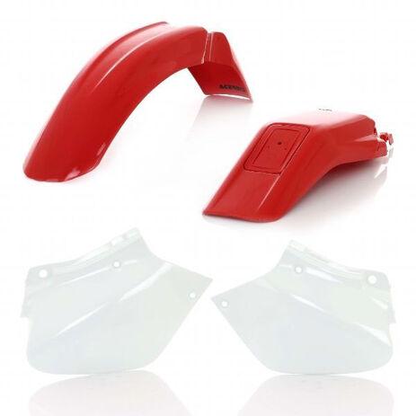 _Kit plastiques Acerbis Honda XR 250 R 96-03 XR 400 R 96-04 | 0007573.553.990 | Greenland MX_