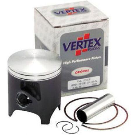 _Pistón Vertex Suzuki RM 125 90-99 1 Segmento   2216   Greenland MX_
