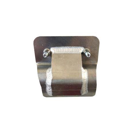 _Fixation Sabot Avec Protecteur Echappement P-Tech Gas Gas EC 250/300 XC 250/300 18-19 | PK011FC | Greenland MX_