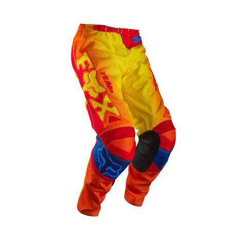 _Pantalon Enfant Fox 180 Imperial Rouge/Jaune | 11449-080-P | Greenland MX_