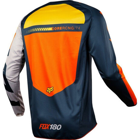 _Maillot Fox 180 Sayak Orange | 19428-009-P | Greenland MX_