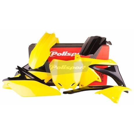 _Kit Plastiques Polisport Suzuki RMZ 250 10-18 OEM 14-16 | 90626 | Greenland MX_