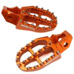 _Repose Pieds Aluminium Zeta KTM SX 125 SX-F 250/450 16-19 EXC/EXC-F 17-19 | ZE93-1827-P | Greenland MX_