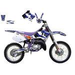 _Kit deco blackbird Yamaha YZ 125/250 93-95 | 2236E | Greenland MX_