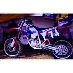 _Kit Deco + Housse de Selle Tecnosel Replica Team Honda Maddii 1995 CR 125 95-97 250 95-96   81V07   Greenland MX_