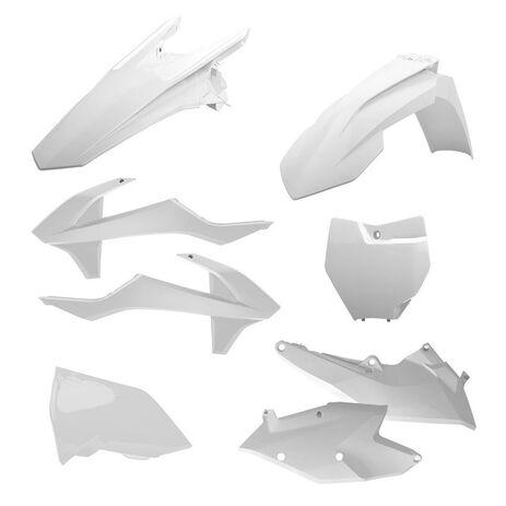 _Kit Plastiques Polisport KTM EXC/EXC-F 17 Blanc | 90708 | Greenland MX_