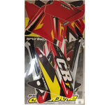 _Kit Autocollants Blackbird Honda CRF 250 R 04-07 | BKBR-2135 | Greenland MX_