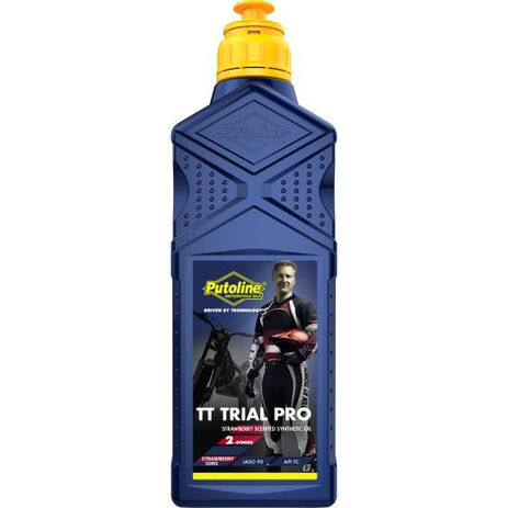 _Huile Putoline TT Trial Pro Scented 2T 1 Litre | PT70494 | Greenland MX_