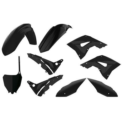 _Kit Plastiques Polisport MX Restyling Honda CR 125/250 02-07 Noir   90821   Greenland MX_