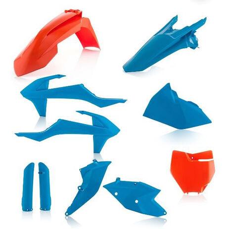 _Full Kit Plastiques Acerbis Limited Edition KTM SX 125/144/250 SX-F 16-..SX 250 17-.. Bleu/Orange   0021741.204   Greenland MX_
