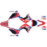 _Kit autocollant complète Kit Restyling Polisport Honda CR 125 R 02-07 | SK-CR125PLRKBK-P | Greenland MX_