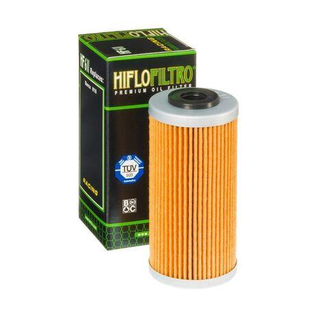 _Filtre a Huile Hiflofiltro Sherco SE 250 i 08-.. BMW G 450 X 09-12 | HF611 | Greenland MX_