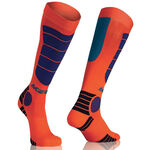 _Chaussettes Acerbis MX Impact Orange/Bleu | 0021633.204.00P | Greenland MX_