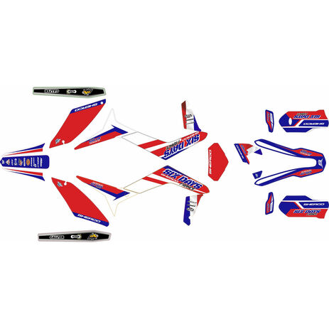 _Kit autocollant complète Sherco Enduro 17-.. Six Days 2018 France | SK-SH18SD18 | Greenland MX_