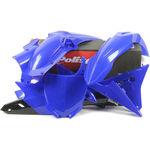 _Kit Plastiques Polisport Yamaha YZ 250/450 F 14-17 | 90671 | Greenland MX_