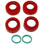 _Kit Protecteur Roulement Roue 4MX Beta Enduro 13-.. Rouge | 4MX-BP-03-RD | Greenland MX_