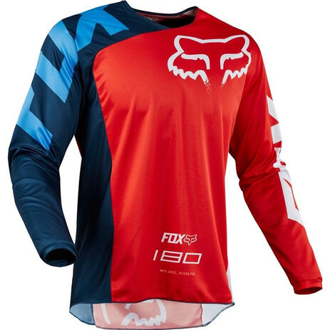 _Maillot Fox 180 2018 Race Rouge | 19426-003-P | Greenland MX_