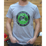 _T-shirt GMX Heritage Gris | PU-TGMXHRGY | Greenland MX_