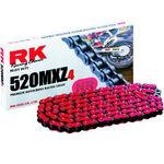 _Chaîne RK 520 MXZ4 Super Renforcee 120 Maillons Rouge | TC-RKMXZ4RD | Greenland MX_