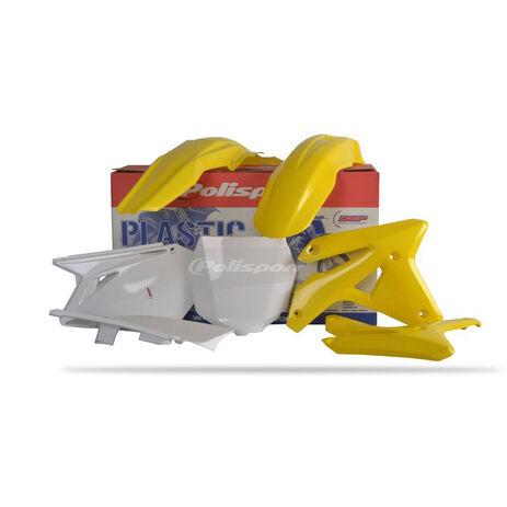 _Kit plastiques polisport Suzuki RMZ 450 2007 | 90124 | Greenland MX_