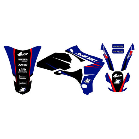 _Kit Deco Blackbird Dream 4 Yamaha YZ 250/450 F 03-05 | 2230N | Greenland MX_